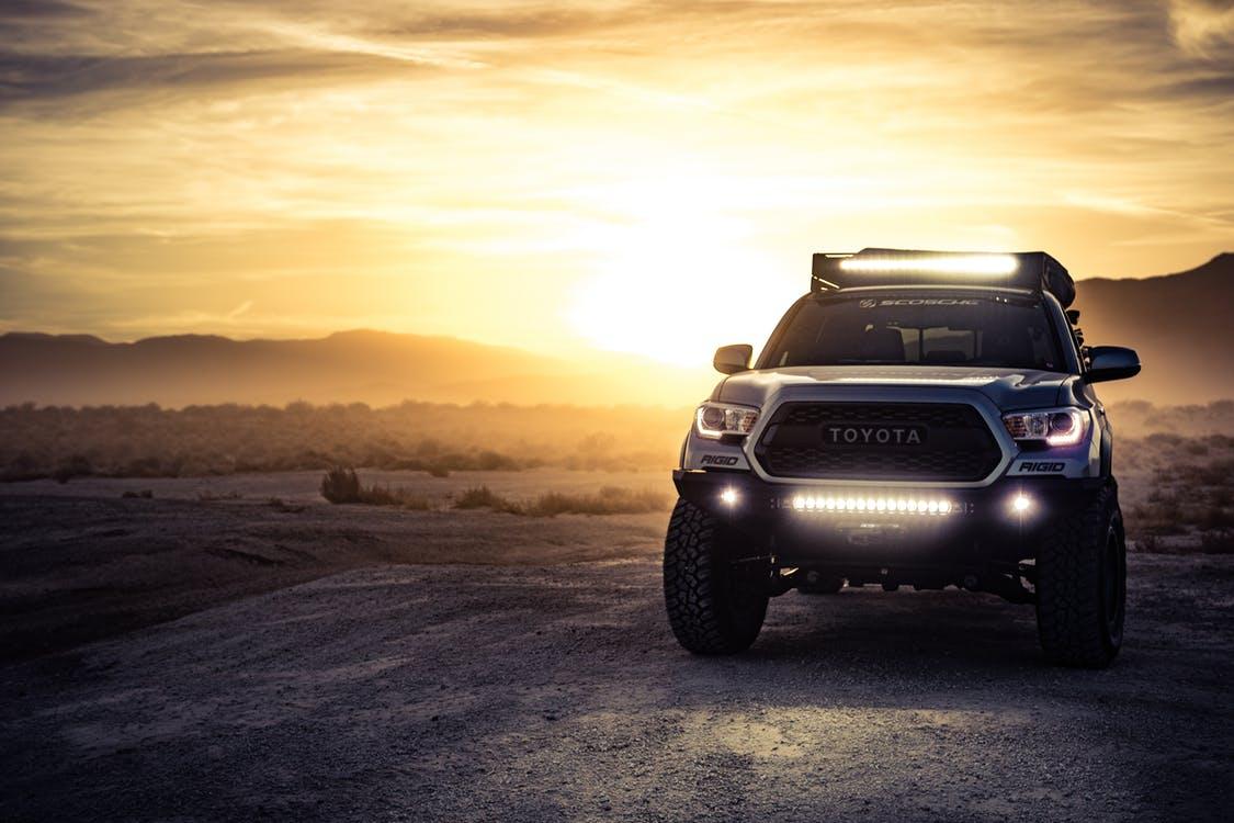 Konzentrieren Sie Sich Auf Lastwagen Led Beleuchtung