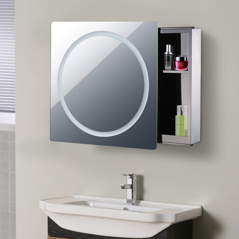 Meuble Haut Salle De Bain Avec Miroir comparatif meuble de salle de bain à led - zone led
