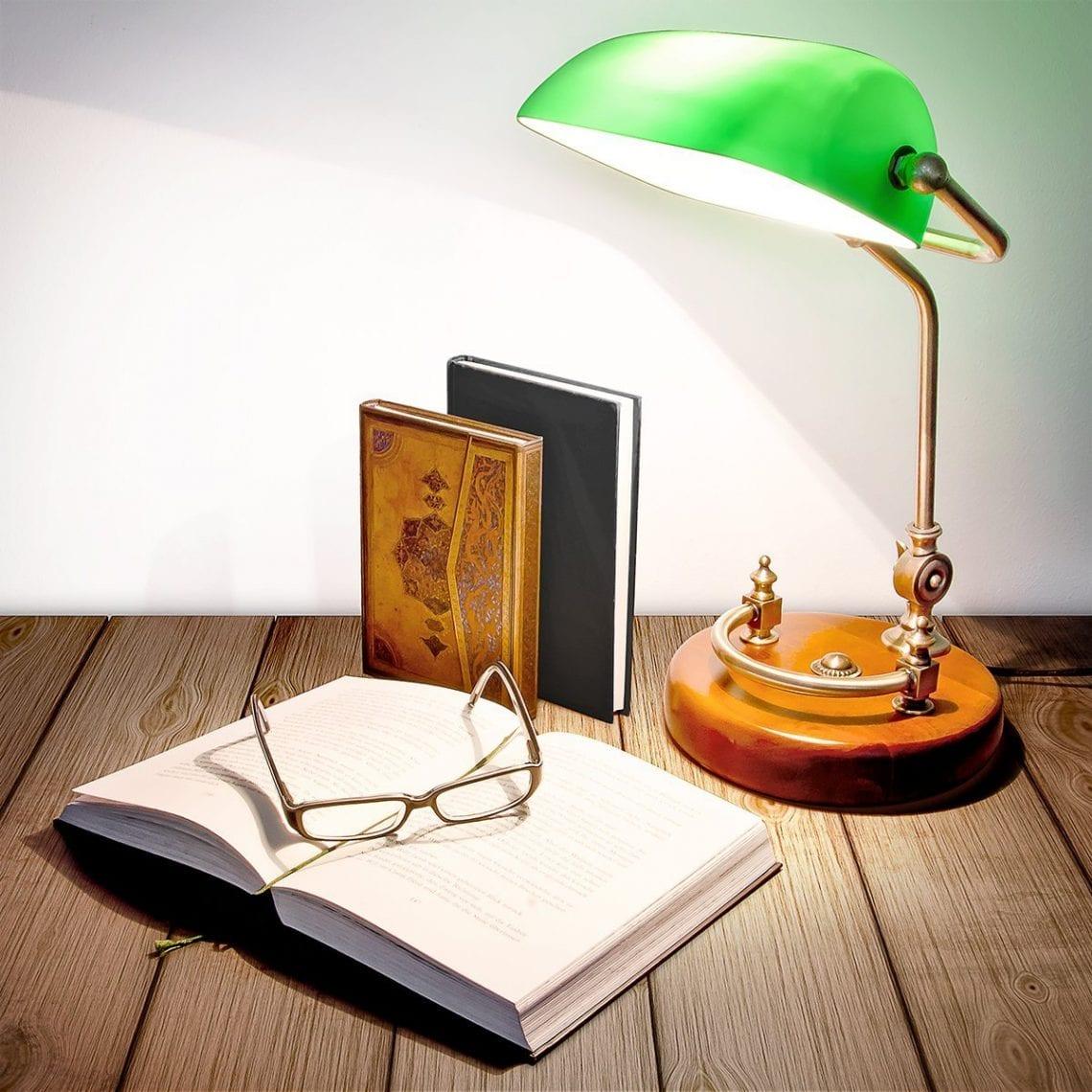 lampe banquier