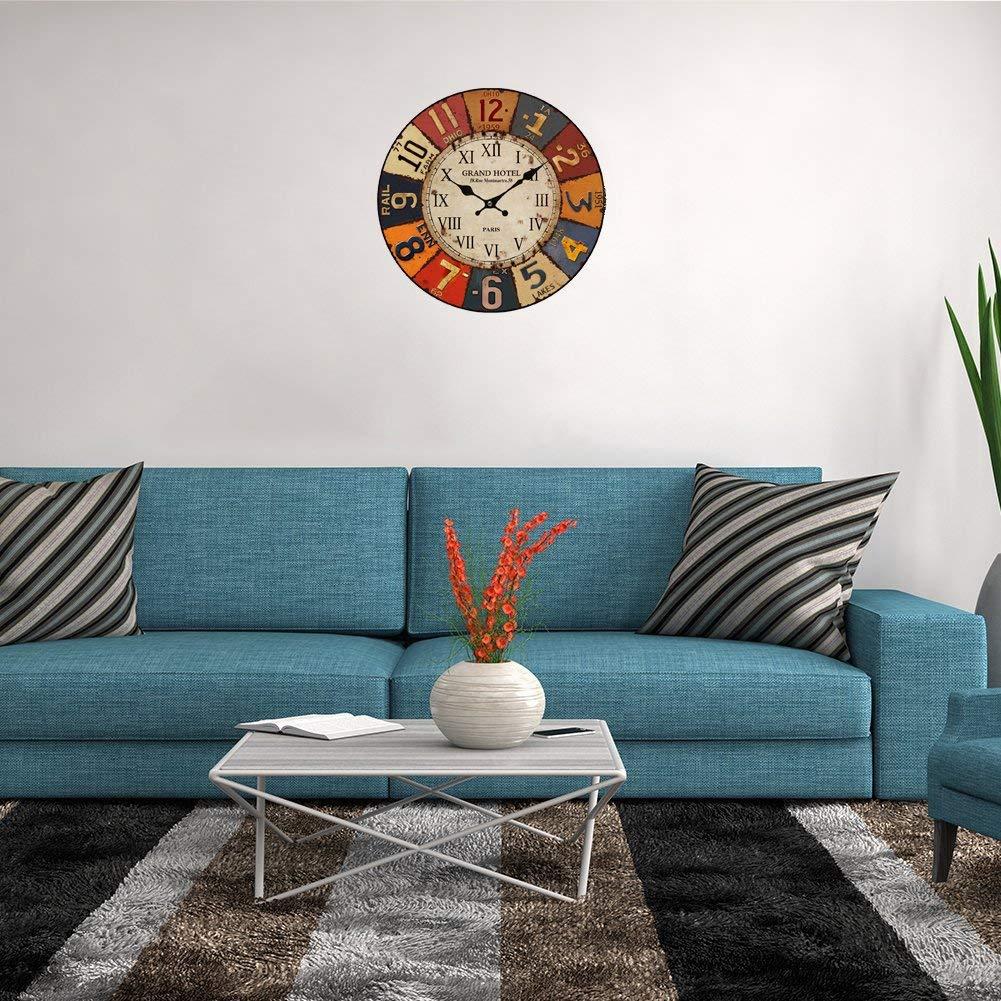 Horloge De Bureau Originale la nouvelle horloge murale vintage - zone led
