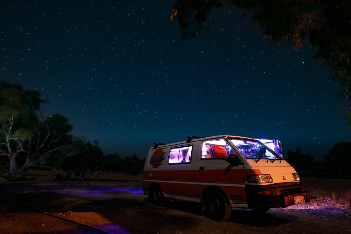 éclairage camping car