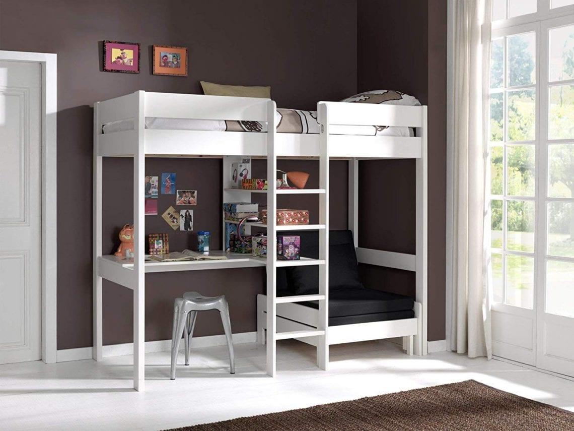 Lit Superposé Marche Escalier les nouveaux lits mezzanine - zone led