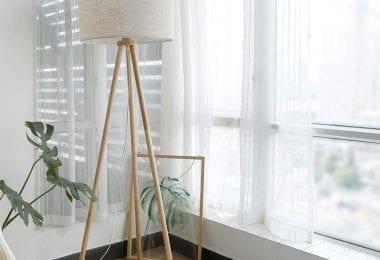 Lámpara de pie escandinava