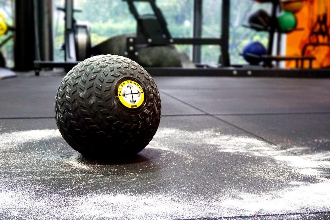 POWRX Slam I m/édecine ball 3 20/kg I Slam Ball diff/érents coloris.
