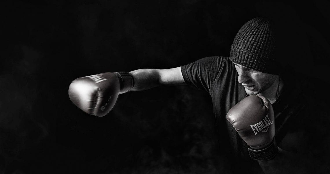 QualitäT In Leder Boxen Kampf Mma Punch Handschuhe Fausthandschuh Heimtrainer Workout Ausgezeichnete