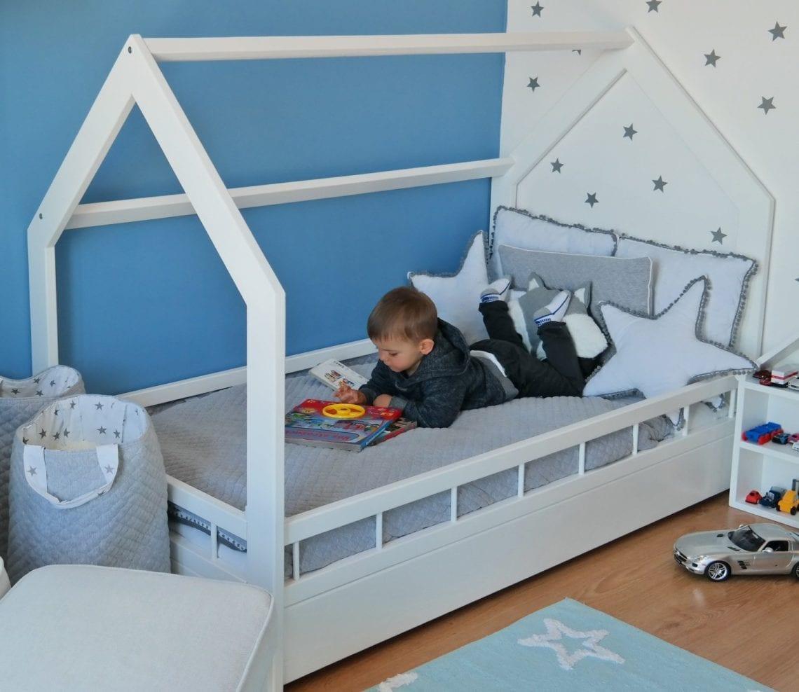 Diy Lit Cabane 90X190 générique lit cabane 90x190 avec tiroir bois massif chambre