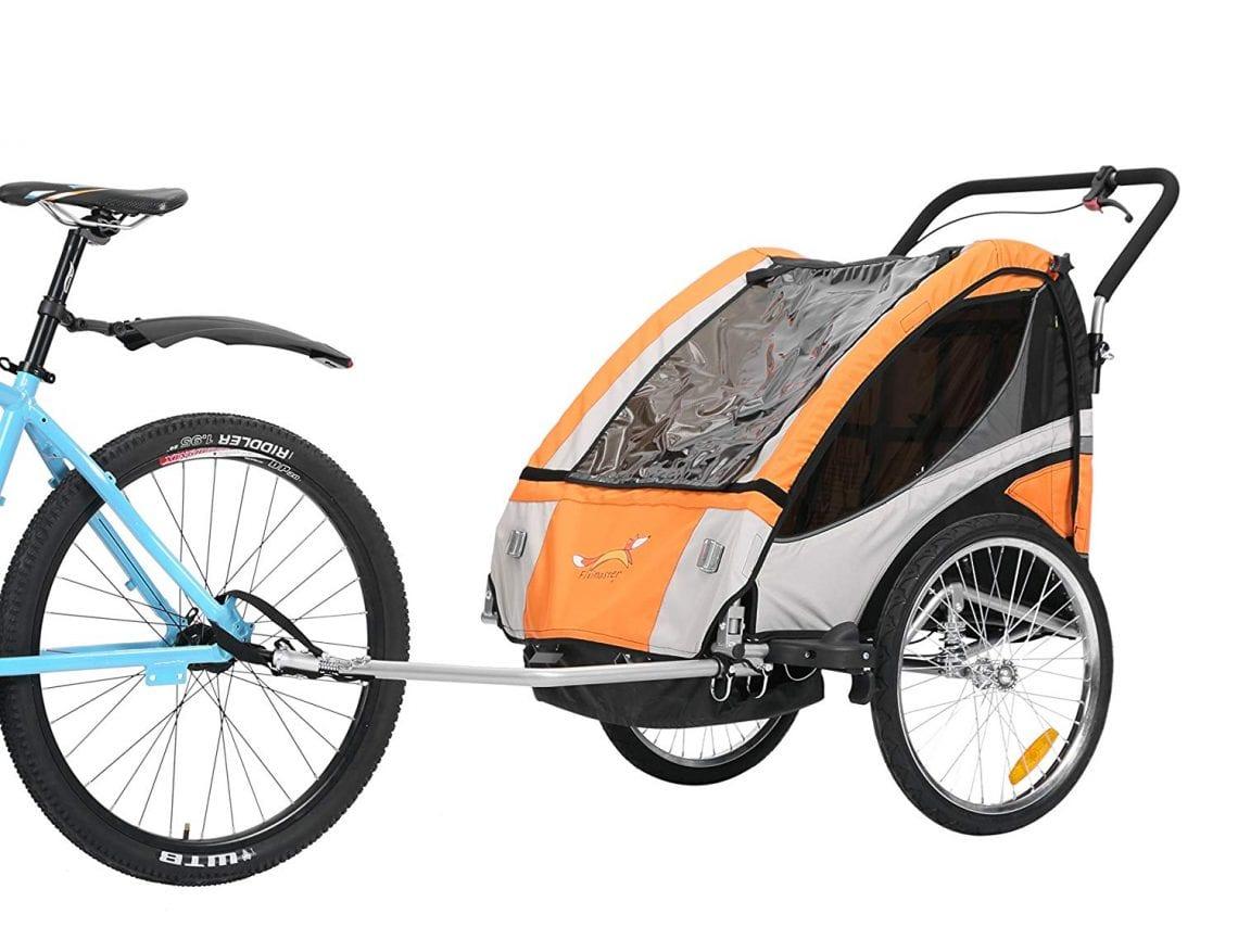 Wee-Ride Copilot XT V/élo remorque Semi-Tandem Enfant