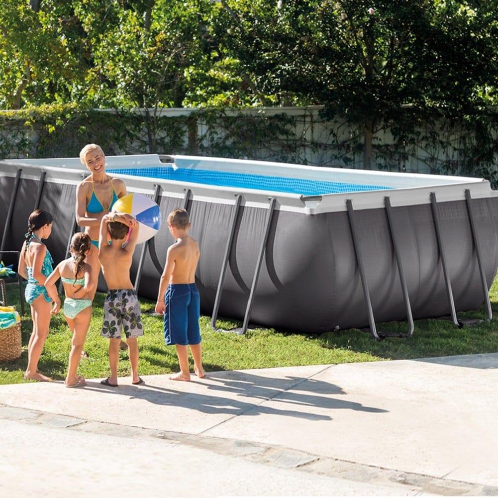 Eclairage Pour Piscine Tubulaire zoom sur la piscine gonflable, comparatif et avis - zone led