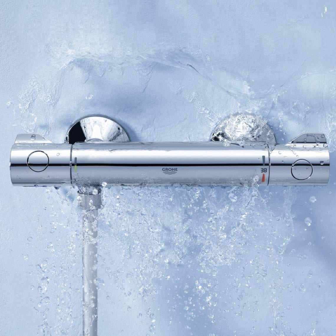 Import Allemagne GROHE Mitigeur Thermostatique Douche Grohtherm 800
