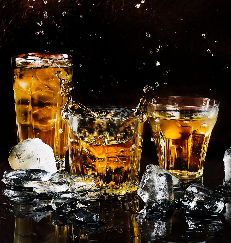 L'utilisation de la pierre à whisky. Zone Led